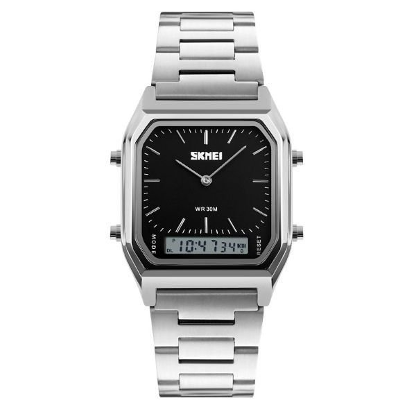 Relógio Masculino Skmei Anadigi 1220 Preto