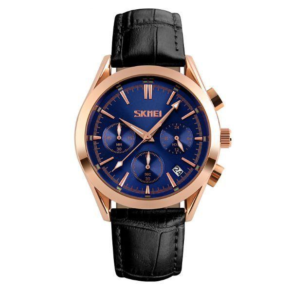 Relógio Masculino Skmei Analógico 9127 Azul