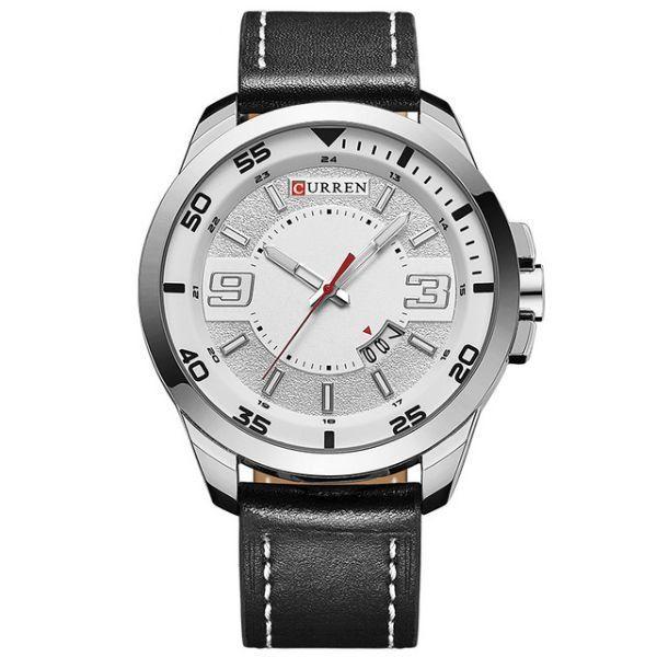 Relógio Masculino Curren Analógico 8213 Branco