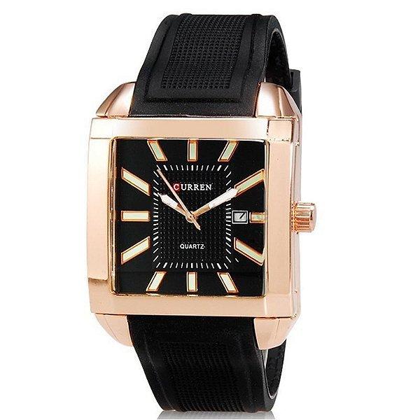 Relógio Curren Analógico 8145 Bronze
