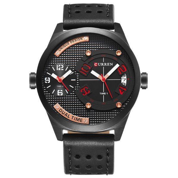 Relógio Masculino Curren Analógico 8252 Preto