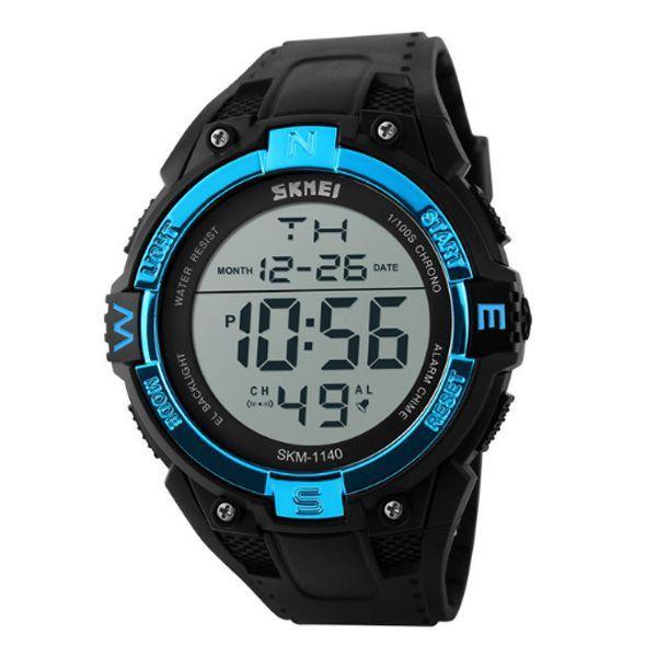 Relógio Masculino Skmei Digital 1140 - Preto e Azul