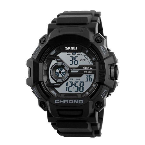 Relógio Masculino Skmei Digital 1233 Preto