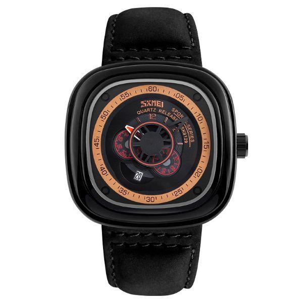 Relógio Masculino Skmei Analógico 9129 Preto