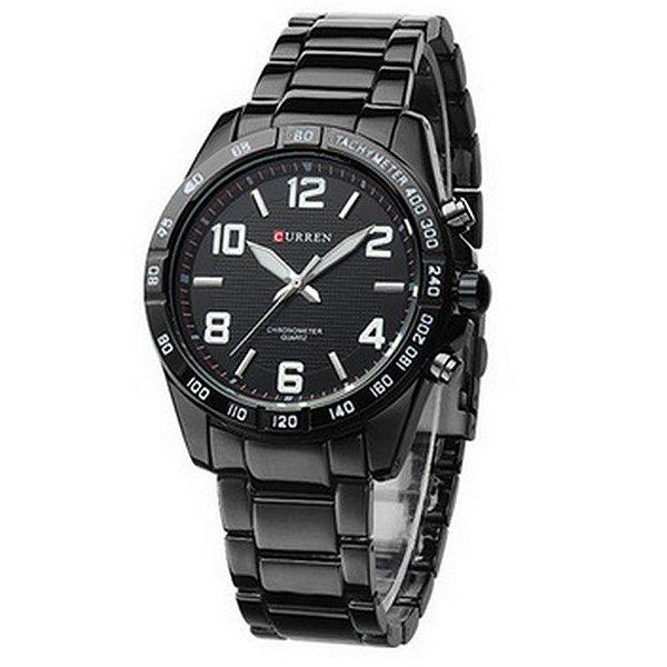 Relógio Masculino Curren Analógico 8107 Branco