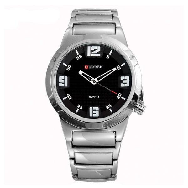 Relógio Curren Analógico 8111 Prata