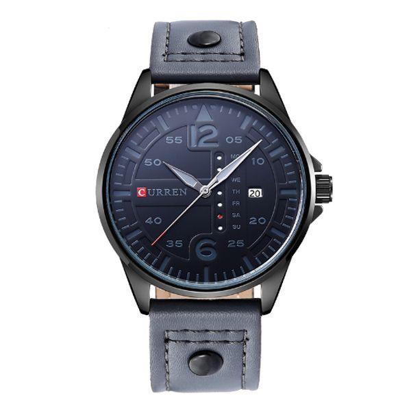 Relógio Curren Analógico 8224 Cinza