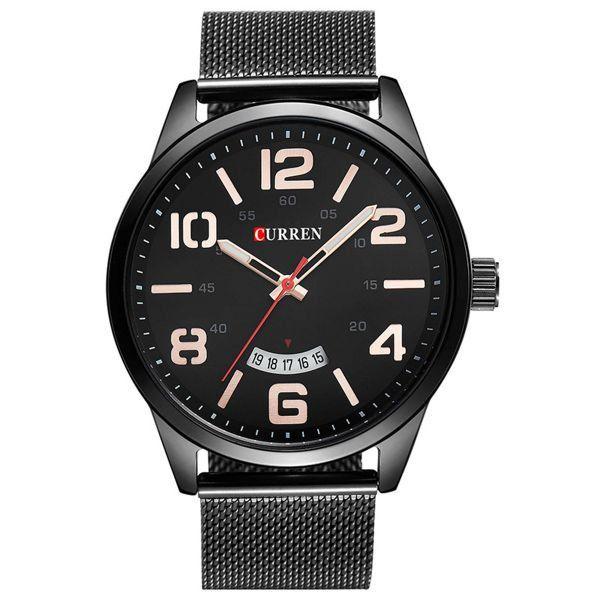 Relógio Curren Analógico 8236 Preto