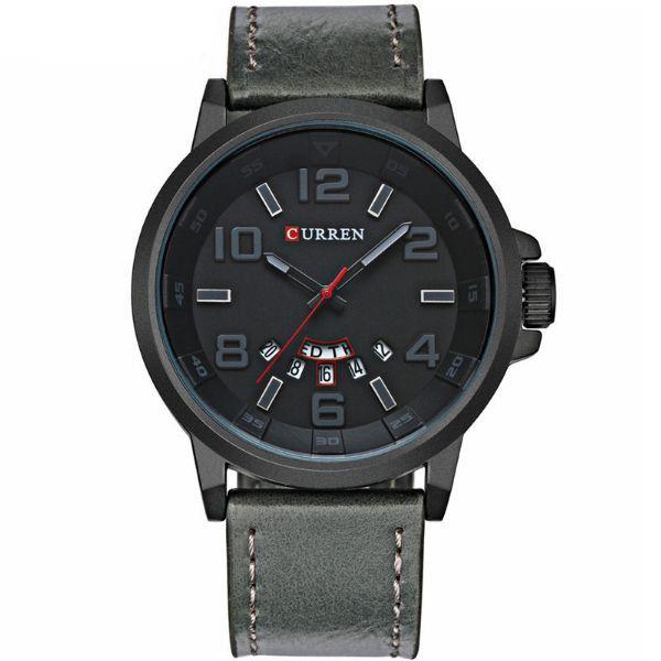 Relógio Curren Analógico 8240 Cinza