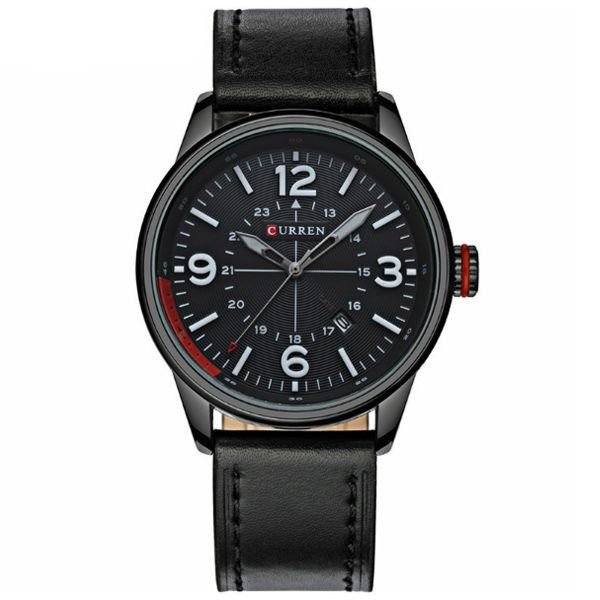 Relógio Curren Analógico 8215 Preto