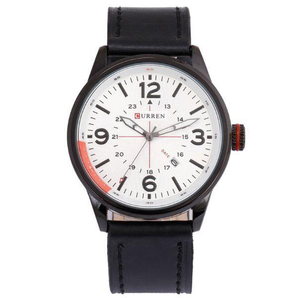 Relógio Curren Analógico 8215 Branco