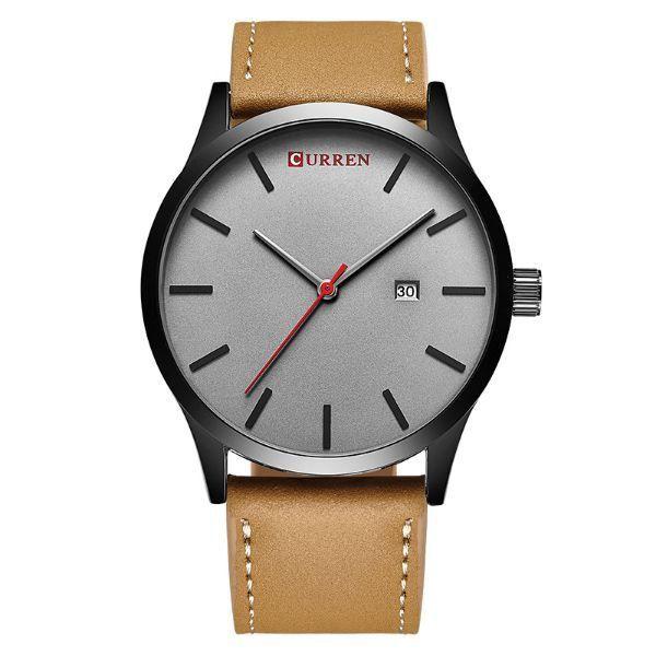 Relógio Curren Analógico 8214 Cinza