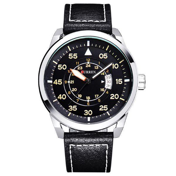 Relógio Curren Analógico 8210 Prata