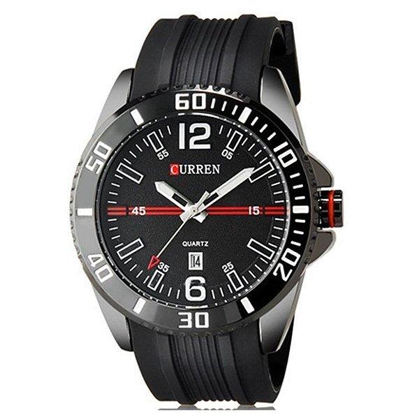 Relógio Curren Analógico 8178 Preto
