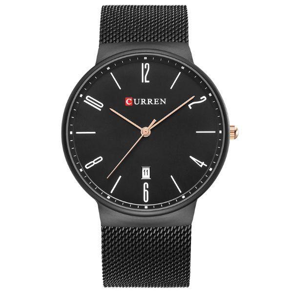Relógio Masculino Curren Analógico 8257 Preto