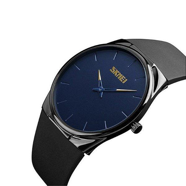 Relógio Masculino Skmei Analógico 1601S Azul
