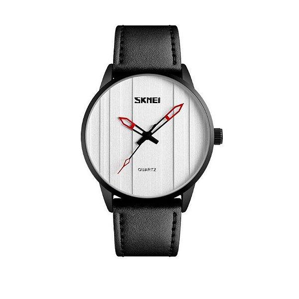 Relógio Masculino Skmei Analógico 1602S Prata