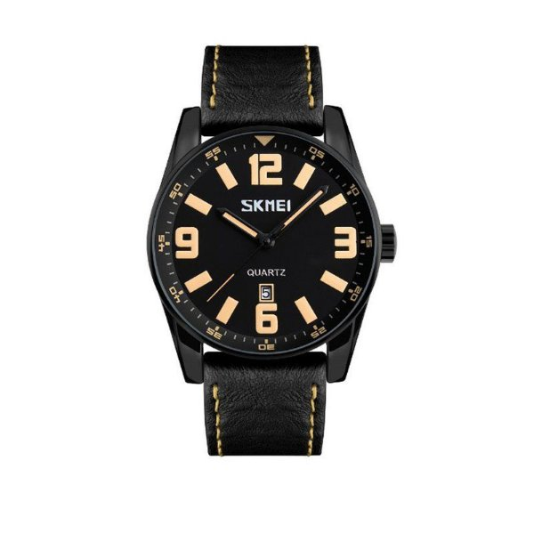 Relógio Masculino Skmei Analógico 9137 Bege