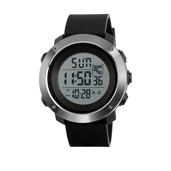 Relógio Masculino Skmei Digital 1267 - Preto e Prata