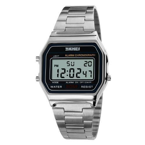 Relógio Masculino Skmei Digital 1123 Prata