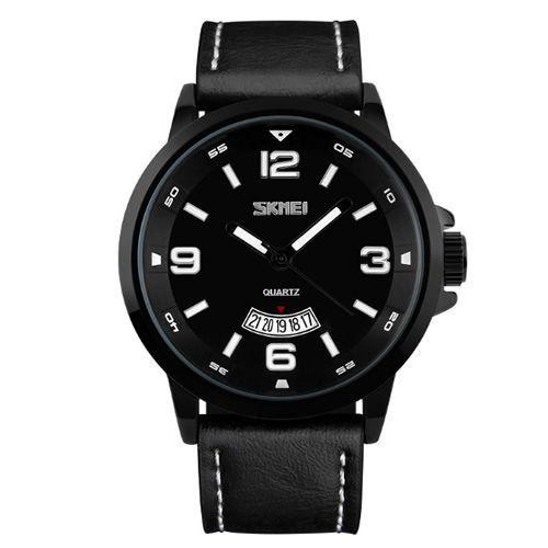 Relógio Masculino Skmei Analógico 9115 Preto