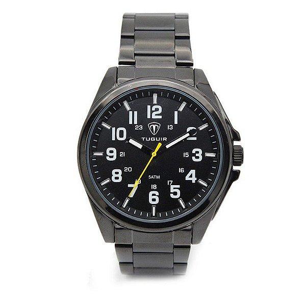 Relógio Masculino Tuguir Analógico 5045 Preto