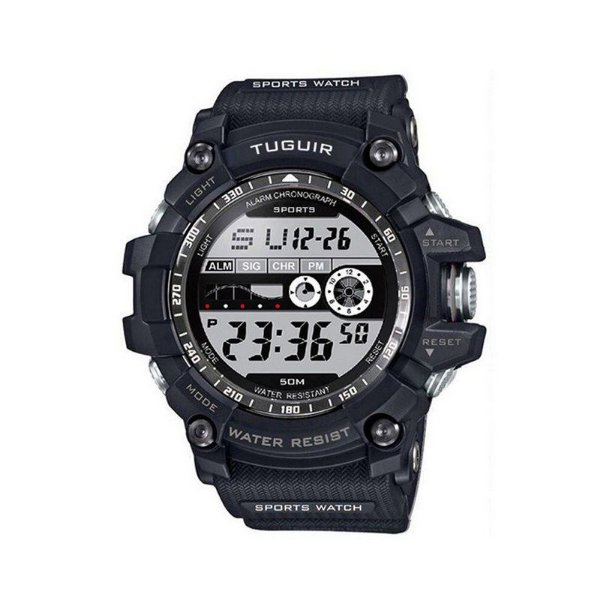 Relógio Masculino Tuguir Digital TG6009 Preto