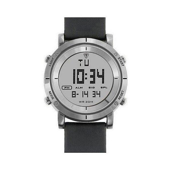 5bd239824aa Relógio Masculino Tuguir Digital TG6017 Prata - ShopDesconto - Aqui ...