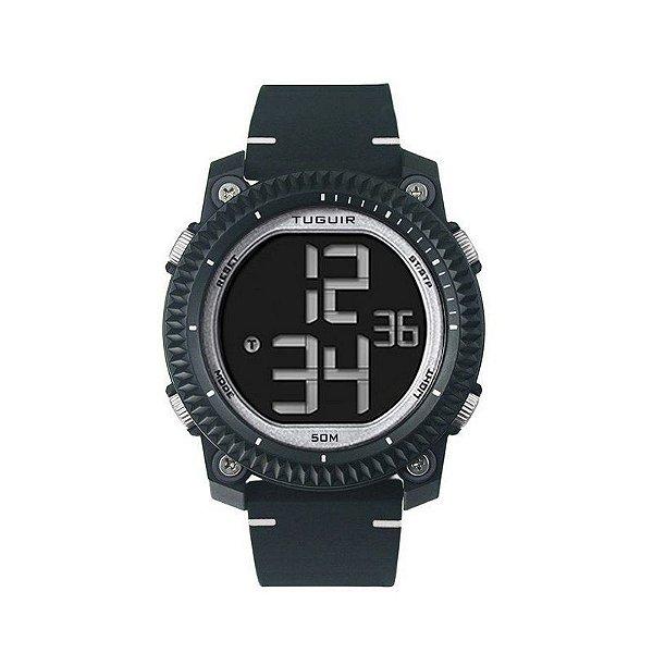 Relógio Masculino Tuguir Digital TG6020 Preto
