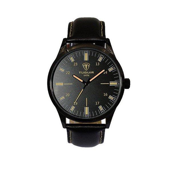 Relógio Masculino Tuguir Analógico 5005 Preto