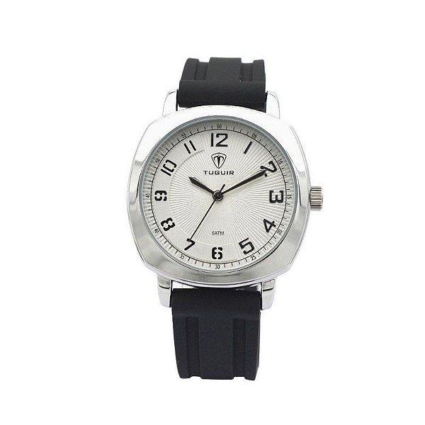 Relógio Masculino Tuguir Analógico 5015 Preto