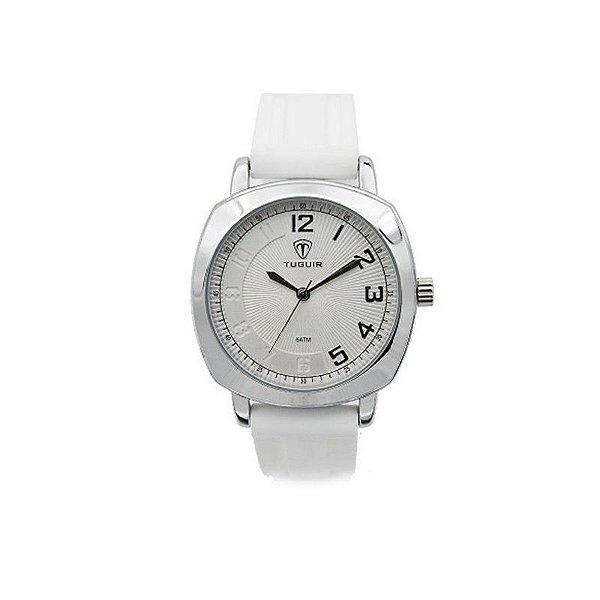 Relógio Feminino Tuguir Analógico 5015 Branco