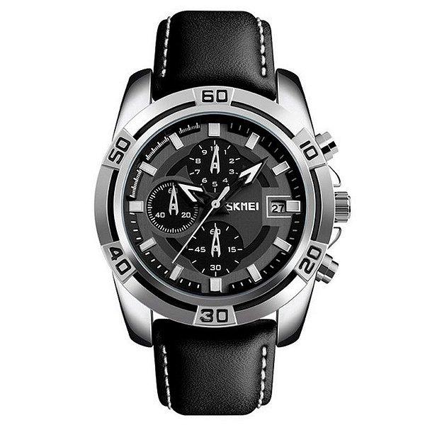 Relógio Masculino Skmei Analógico 9156 - Preto