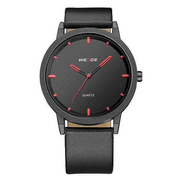 Relógio Masculino Weide Analógico WD001 - Preto e Vermelho