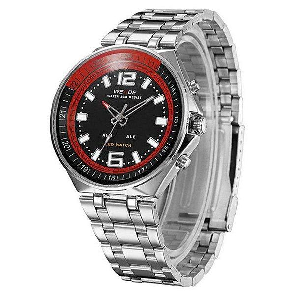 Relógio Masculino Weide Anadigi WH-849 - Preto