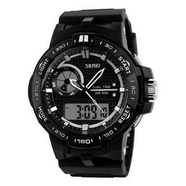 Relógio Masculino Skmei Anadigi 1070 Preto