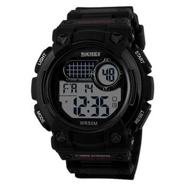 Relógio Masculino Skmei Digital 1054 Preto