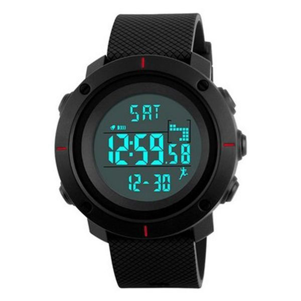 Relógio Masculino Skmei Digital 1215 - Preto e Vermelho
