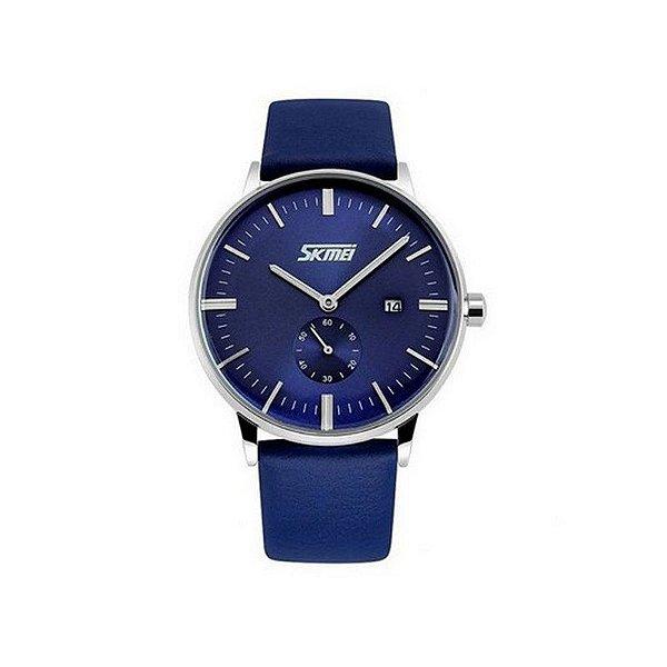 Relógio Masculino Skmei Analógico 9083 Azul
