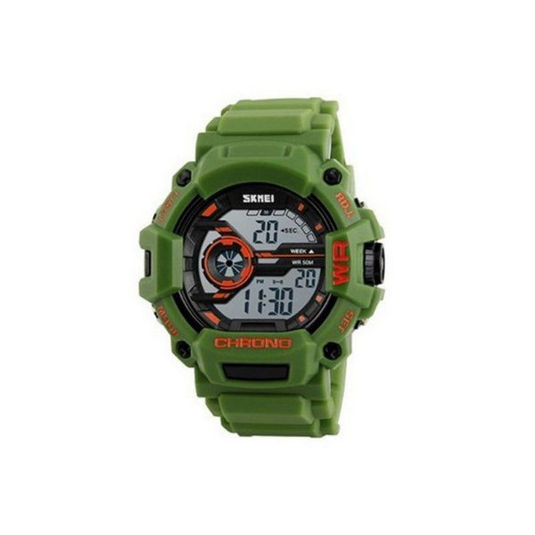 Relógio Masculino Skmei Digital 1233 Verde