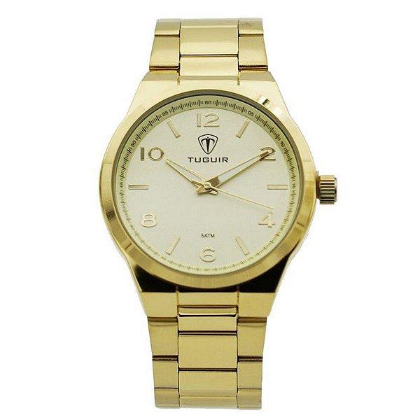 Relógio Unissex Tuguir Analógico 5440G Dourado