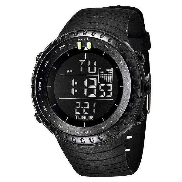 Relógio Masculino Tuguir Digital TG1705 Preto