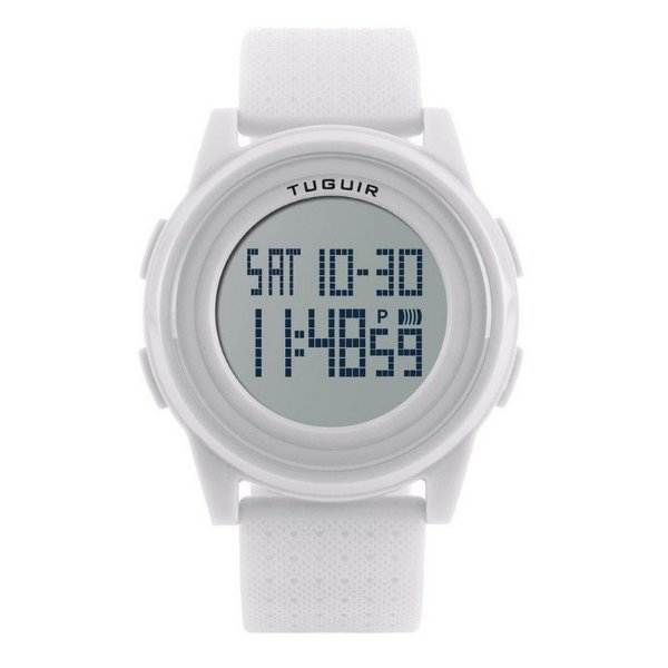 Relógio Unissex Tuguir Digital 1206 Branco