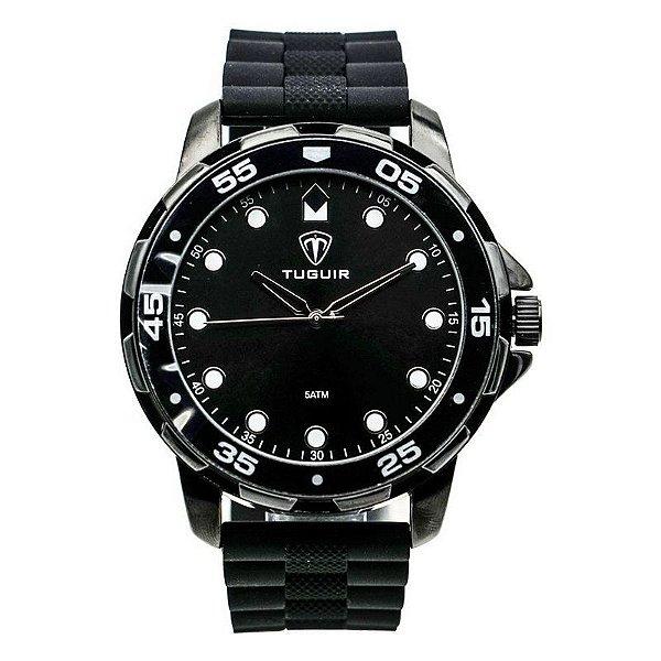 Relógio Masculino Tuguir Analógico 5328G Preto