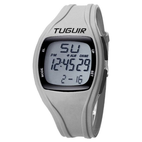 Relógio Unissex Tuguir Digital TG1602 Cinza