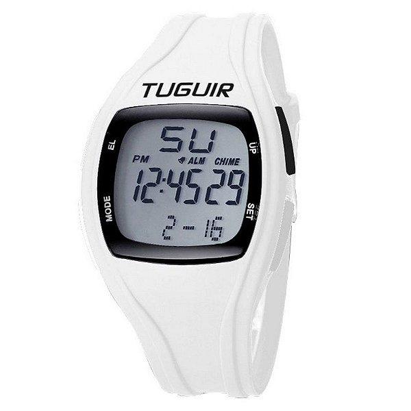 Relógio Unissex Tuguir Digital TG1602 Branco
