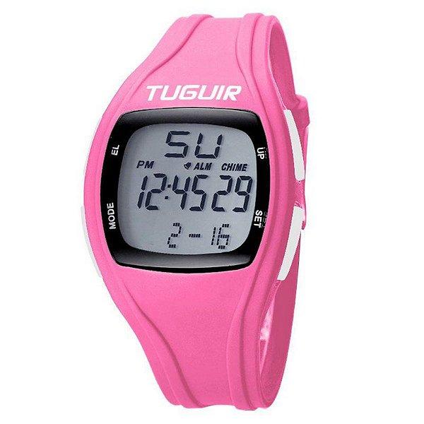 Relógio Unissex Tuguir Digital TG1602 Rosa