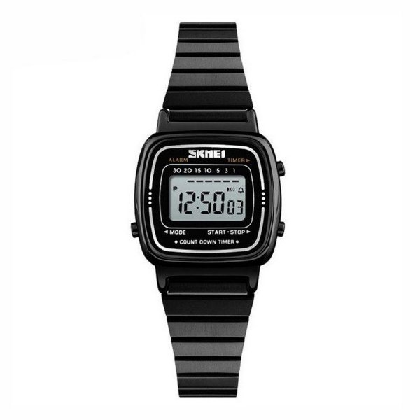 Relógio Feminino Skmei Digital 1252 - Preto