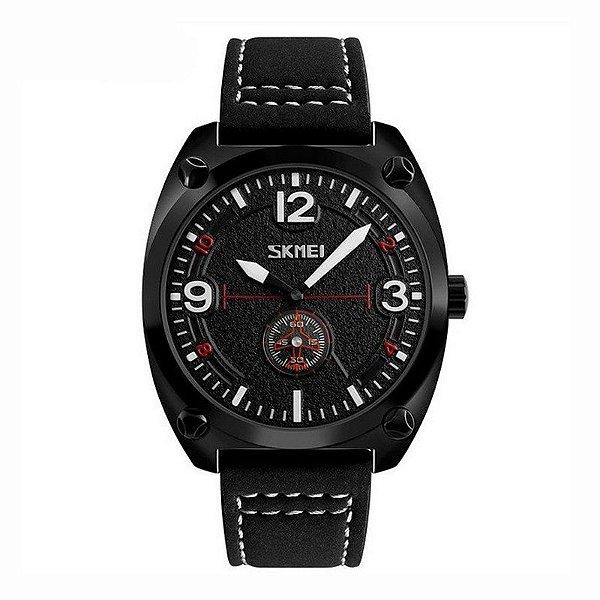 Relógio Masculino Skmei Analógico 9155 Preto