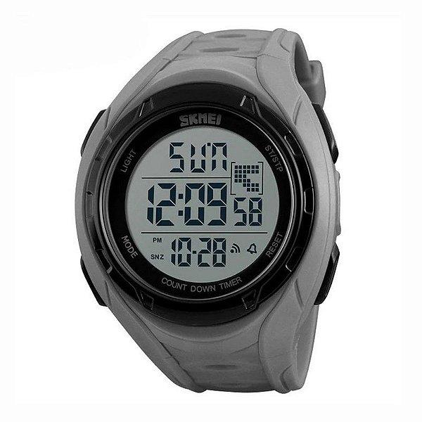 Relógio Masculino Skmei Digital 1313 Cinza